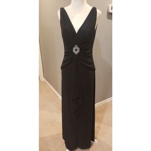 Black Evening Gown Sz 6